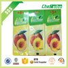 Promotional cheap car paper air freshener wholesale