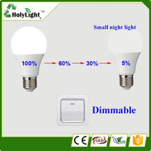 Hot Selling! 6W 7W 9W LED Smart bulb 5W led emergency light battery charge led lighting E27 Lamp for home indoor 2835smd