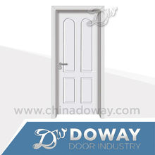 HIGH QUALITY LOW PRICE MORE NEW DESIGNs INTERIOR WOODEN /MDF (glass) WHITE INTERIOR DOOR