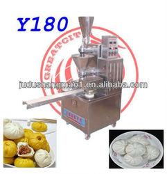 Factory directly sale automatic steamed stuffing bun making machine, chinese momo making machine