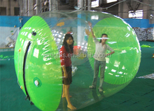 can be customized inflatable water rolling ball, water rollers with various sizes
