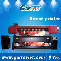 Direct textile printer digital textile printing machine for cotton wool silk