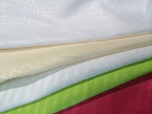 100% polyester embossed dyed bed linen plain polyester for sofa, bed sheets, hometextile