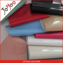2015 high quality patent leather fabric for pu shoe leather