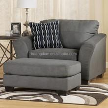 hot sale customized modern single sofa Chairs and Ottoman SC4059