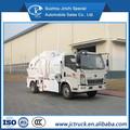 4x2 5 cbm cusine déchets de camion à ordures, la gestion des déchets à ordures camion sino howo