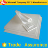 molded ptfe sheet virgin white rubber and plastic production