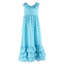 Niños venta al por mayor de la alta calidad cenicienta vestido precioso vestido de niña de verano