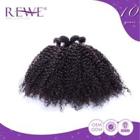 Exceptional Quality Natural And Beautiful Curls Bohemian Kinky Curly Human Hair Weft Extensions