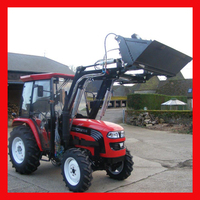 Hot selling Foton 50hp tractor with front end loader