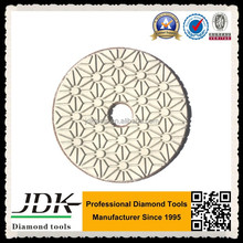 3 Steps Wet Diamond Flexible Polishing Pad/100mm Popular Stone Polishing Pad For Hand Polisher And Floor Grinder