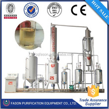 Chongqing supply the newest generation continuous small oil refinery machine