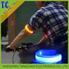 For sport safety reflective led light wrist belt in dark