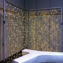LED Waterproof Flashing Star Stage Decoration Curtain Light