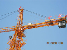 QTZ250 TC7030 Overseas Engineers Available Easy Wear Parts Assurance Tower Crane in stock