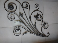 manufacturer wrought iron pattern for staircase railings decorative design