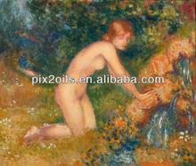 Mujeres Desnudas Pintura Al Leo
