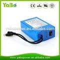 La fabricación de shenzhen de iones de litio batería 12v 20ah para la luz led/tira/panel, la cámara del cctv, router
