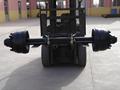 de alta calidad tipo alemán eje con freno y cubierta de polvo