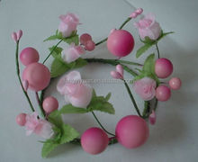 brand new best selling flower and Berry wreaths and candle rings