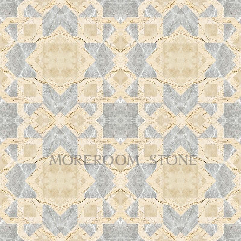 MPHI07G66 Greek Grey Marble Tiles Turkish Beige Marble Price Waterjet Medallion Marble Flooring Polished Marble Inlaid Marble Floor Design Moreroom Stone -1.jpg