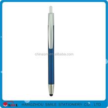 Plastic advertising ball pen tablet stylus touch pen for ipad