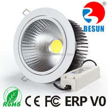 CRI>85/95ra adjustable recessed 7 pin/7 inch 40w LED cob Downlight with 3/5 years warranty