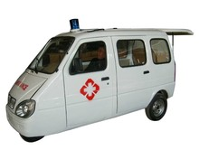 china electric three wheel motorcycle for ambulance use