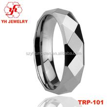 2015 New Design Men's Tungsten Finger Ring Stainless Steel Gay Men Ring