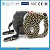 led dog leash pet automatic retractable metal dog leash