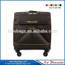18 incheds pad trolley luggage, waterproof computer laptop trolley luggage case