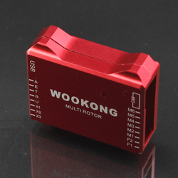 CNC DJI Wookong Flight Control Protective Case/Shell Suitable for Wookong WKM Red color
