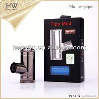 HW most popuar paoduct e-pipe vaporizer e cigs evo e cigarette