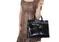 wholesale Hot Selling Black wine Red Women Handbag Luxury OL Lady Animal Skin Pattern high quatity Tote Bag 5692