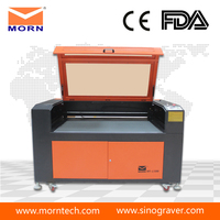 80w 100w 130w coconut shell laser cutting and engraving machine for distributor