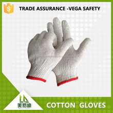best selling !!! cheap cotton labor gloves at least 30g nature white