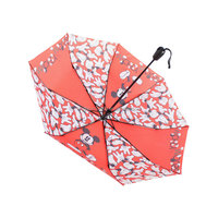 open air five fold hello kitty umbrella