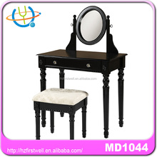 Luxury classic dresser,dressing table and mirror,mirrored vanity table,stool