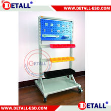 hot sale storage tool esd trolley manufacturer with suspension rail