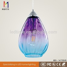 Brand new light up glass ornament with high quality