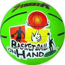 Colorful balls/ popular design balls / basketball(RB040)