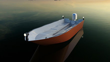 SANJ New developped 6m rescue boat