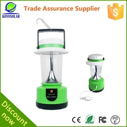 42 leds sunlight lamp solar lantern with mobile phone charger