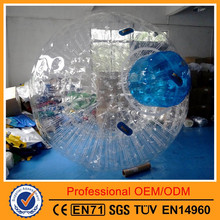 Transparent Inflatable Zorbing Ball With Stopper