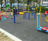 China supplier outdoor playground rubber flooring for sale