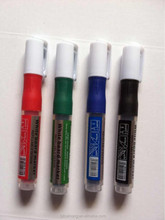 Newest design dustless non-toxic liquid chalk whiteboard marker refillable design for doctorsCH-5166B