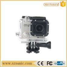 SJ4000 Full HD 720p extreme cheap sport camera, touch screen, support helmet/bike mount