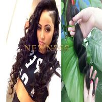Soft and clean hair 5a grade virgin loose wave 3 bundles 20 inch brazilian hair mixed length