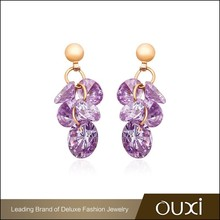 20942 OUXI Factory Direct Sale gold plate fashion imitation earring jewelry