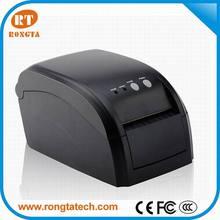 3inch Black Sticker Label POS Printer with Auto Cutter, barcode pos printer 203dpi